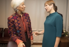 Kaljulaid Lagarde`ile: digiühiskonnast tagasiteed ei ole
