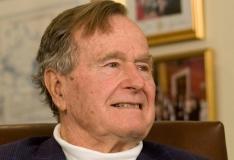 George H.W. Bush viidi veremürgitusega haiglasse