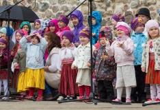 """Tallinna mudilaste tantsupeol """"Me armastame Eestit""""  on tantsimas pea 20 000 last"""