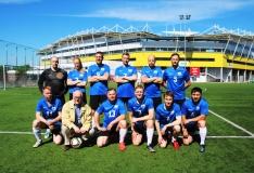 Jalgpalli rändauhinna Kuldne kirves võitis Eesti Riigikogu