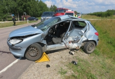Jõgevamaal hukkus kahe auto kokkupõrkes eakas mees