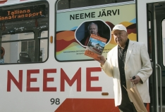 FOTOD JA VIDEO! Neeme Järvi omanimelisest trammist: ma isegi läheks Neemega sõitma