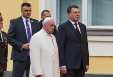 Paavst Riias: Läti iseseisvuse hoidmine on igaühe ülesanne