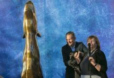 """FOTOD! PÖFF avas skulptuuri nimega """"Kultuurihunt"""""""