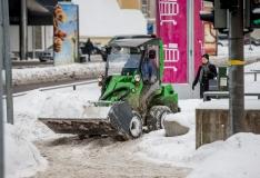 Tallinna tänavailt veeti ööpäevaga ära üle 2360 kuupmeetri lund
