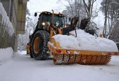 Valdeku tänavalt veetakse täna öösel lund