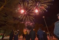 """FOTOD! Männi pargis toimus Eesti Vabariigi 101. sünnipäevale pühendatud kontsertetendus """"EV101"""""""