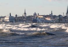 Madalrõhkkond toob Läänemerele kuni kolmemeetrised lained