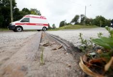 Esmaspäeva õhtul Tallinnas autoga kokku põrganud mootorrattur suri