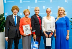 Tallinna Sotsiaal- ja Tervishoiuamet pälvis peresõbraliku tööandja hõbemärgise