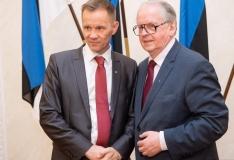 Kohtumine Soome kolleegidega keskendus rahvusvahelisele poliitilisele olukorrale
