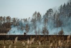 Tulega mänginud lapsed põhjustasid Lõuna-Eestis neli kulupõlengut