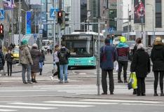 Tallinna kesklinnas hukkus auto alla jäänud jalakäija
