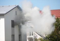 FOTOD! Kesklinnas põles viiekorruseline kortermaja