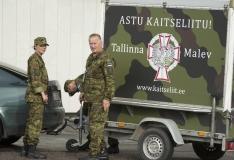Kaitseliidu Tallinna malevat asub juhtima kolonel Kalev Koidumäe