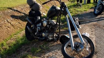 Teele jooksnud mäger põhjustas raske mootorrattaavarii