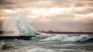 Ilmateenistus andis Läänemerele esimese taseme tormihoiatuse