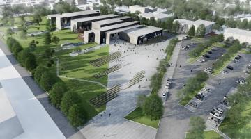 Tallinna Linnavalitsus andis Sisekaitseakadeemiale ehitusloa