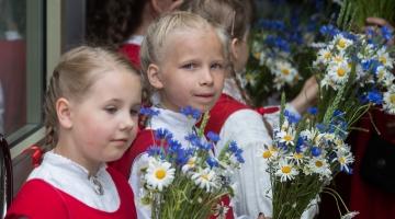 Laulupeo 2-eurose mündi kujundavad lapsed