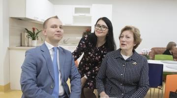FOTOD JA VIDEO! Uus päevakeskus aitab mäluhäiretega eakate eest paremini hoolt kanda