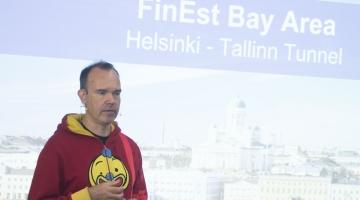 FOTOD JA VIDEO: Vesterbacka tahab tunneli Tallinna ja Helsingi vahele valmis saada viie aastaga