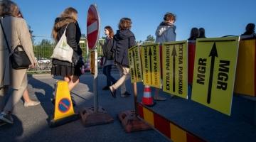 Linn seadis kahe nädala pärast Pärnu maanteel algavatele Hollywoodi filmivõtetele tingimused