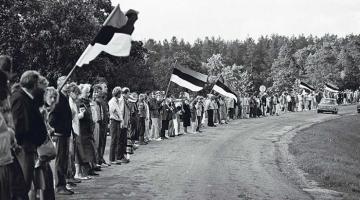 Miilits ja armee aitasid Balti ketti korraldades Nõukogude riiki hävitada