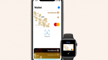 Apple Pay jõudis Swedbanki klientideni