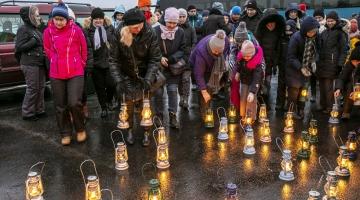 FOTOD! Tallinna linn kutsus laternamatkale Paljassaare poolsaarele