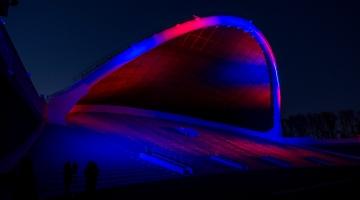 VIDEO JA PILDID! Tallinna laulukaar sai modernse valguslahenduse