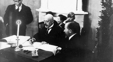 Tartu rahu aitas tegelikult lõpetada I maailmasõda