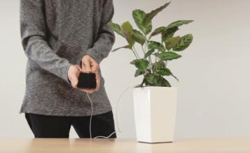 VIDEO! Nutilillepott Bioo Lite muudab su toataime telefonilaadijaks