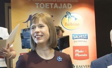 Eesti Vabariigi president Kersti Kaljulaid: Eesti toit on maitsev ja põhjamaiselt puhas