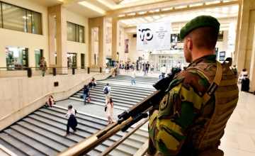Brüsseli raudteejaamarünnakuga seoses peeti kinni neli inimest