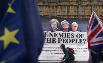 Briti parlament jätab endale lõpliku sõna õiguse Brexiti-leppe üle