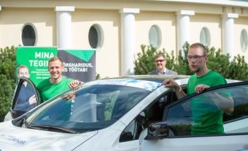 Tudengid: elektriautoralli muudab keskkonnasõbralikud autod rahva seas popimaks