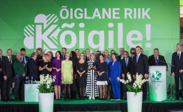 FOTOD JA VIDEO! Keskerakonna viib valimistele esimees Jüri Ratas ja erakonna uus juhatus