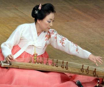 Kadrioru kunstimuuseumis kõlab lummav ja salapärane Korea rahvamuusika