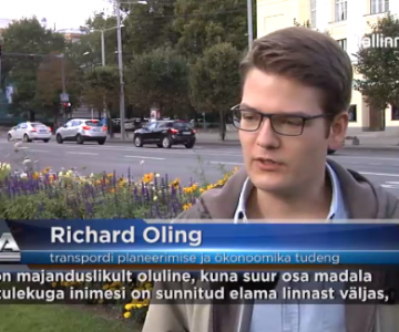 Saksa transporditudengid: Tallinna tasuta ühistransport on imetlusväärne