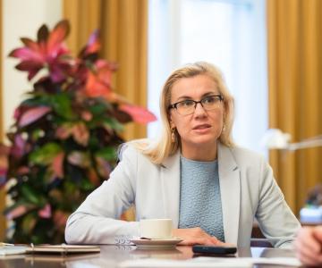 Kadri Simson: Rail Baltic on jätkuvalt Euroopa Komisjoni prioriteetprojekt