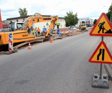 Pihlaka tänaval algasid rekonstrueerimistööd