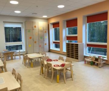 FOTOD JA VIDEO! Veerise lasteaed avati rõõmsa laulu saatel