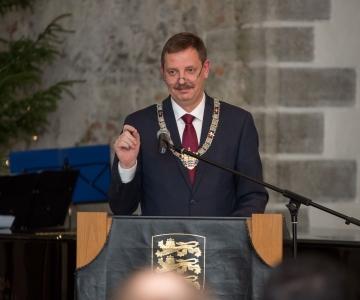 FOTOD! Taavi Aas diplomaatidele: Tallinnast saab puhta õhuga roheline e-linn