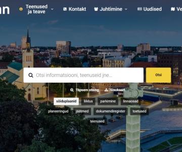Tule tutvu tutvuma Tallinna uue kodulehe kujundusega