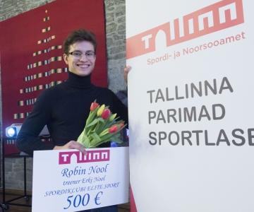 FOTOD! Tallinn tunnustas oma parimaid noorsportlasi
