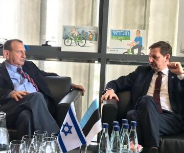 Taavi Aas Tel Avivis: ka Tallinnas võiks linna ja elanike vahel olla otsesuhtlus äpi kaudu