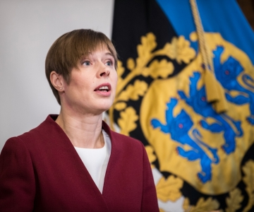 OTSE! President teenetemärkide saajaile: olete Eesti meile koduks ehitanud