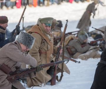 PÕNEV GALERII: Viimsis lavastati Pangevitsa mõisa lahing!