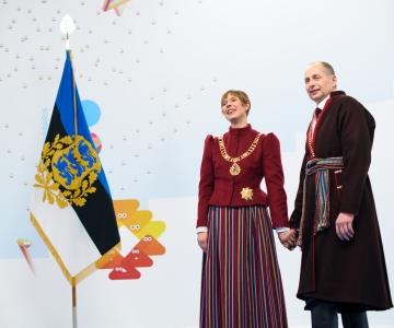 Galerii saabumisest kätlemistseremooniani: vaata, kes olid kutsutud pidulikule presidendi vastuvõtule