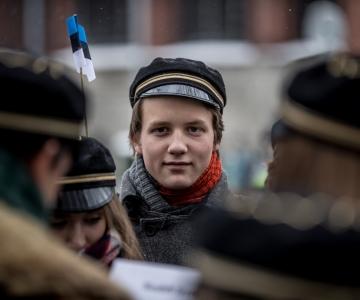 VAATA OTSE KELL 14:00! Tallinna Reaalkool mälestab Eesti Ajutise Valitsuse istungit